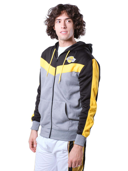 NBA Los Angeles Lakers Men's Full Zip Hoodie|Los Angeles Lakers