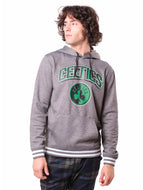 NBA Boston Celtics Men's Fleece Hoodie Rib Stripe|Boston Celtics