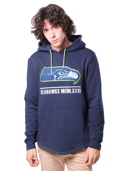 NFL Seattle Seahawks Men's Embroidered Hoodie|Seattle Seahawks