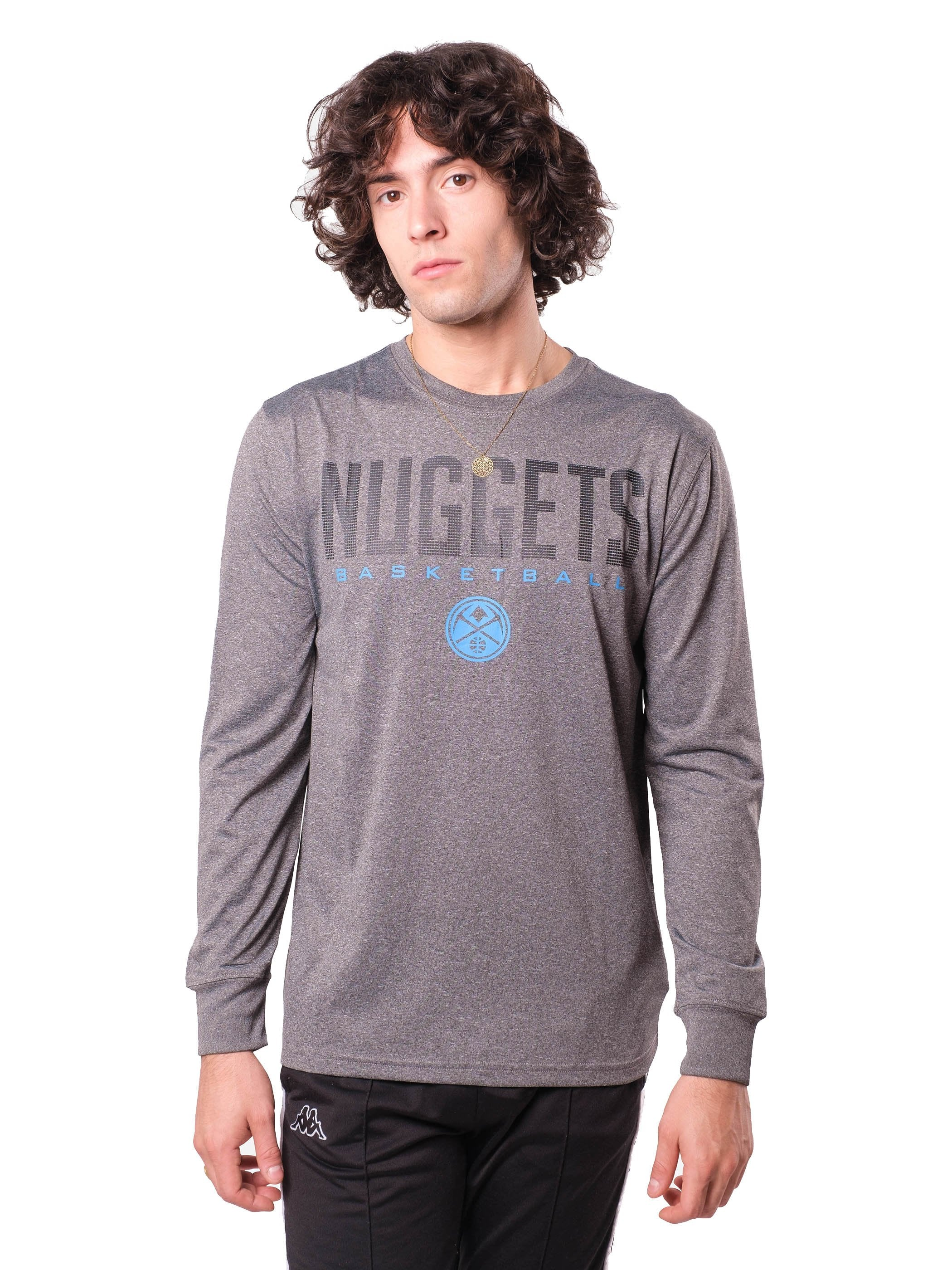 NBA Denver Nuggets Men's Long Sleeve Tee|Denver Nuggets