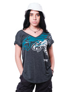 NFL Philadelphia Eagles Women's V-Neck Tee|Philadelphia Eagles