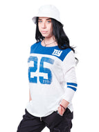 NFL New York Giants Women's Vintage 3/4 Long Sleeve Tee|New York Giants