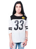 NFL Pittsburgh Steelers Women's Vintage 3/4 Long Sleeve Tee|Pittsburgh Steelers