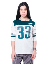 Load image into Gallery viewer, NFL Philadelphia Eagles Women's Vintage 3/4 Long Sleeve Tee|Philadelphia Eagles