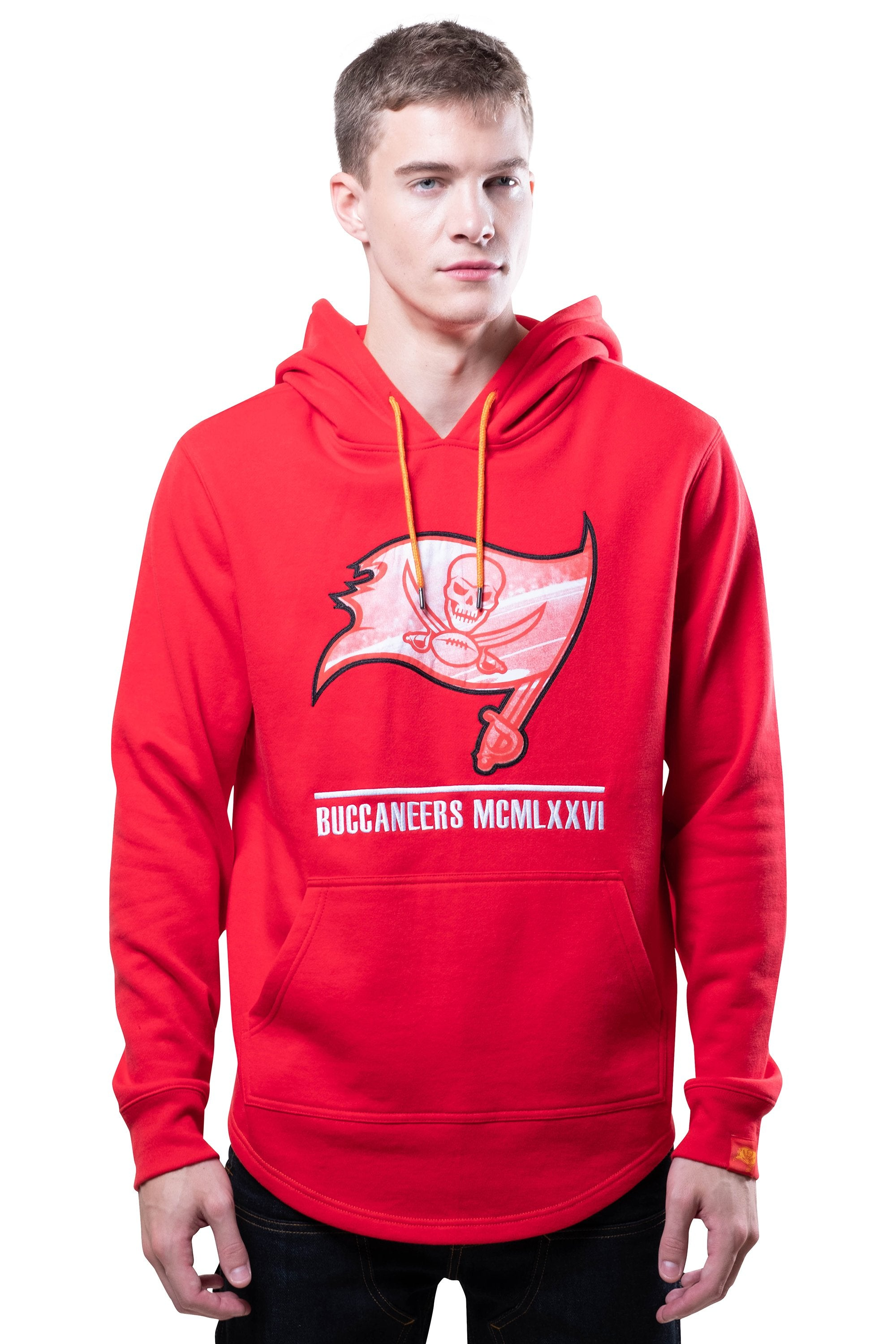 NFL Tampa Bay Buccaneers Men's Embroidered Hoodie|Tampa Bay Buccaneers