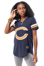 Load image into Gallery viewer, NFL Chicago Bears Women's Varsity Stripe Tee|Chicago Bears