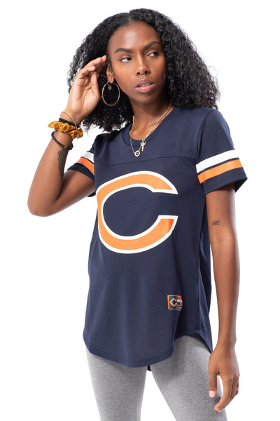 NFL Chicago Bears Women's Varsity Stripe Tee|Chicago Bears