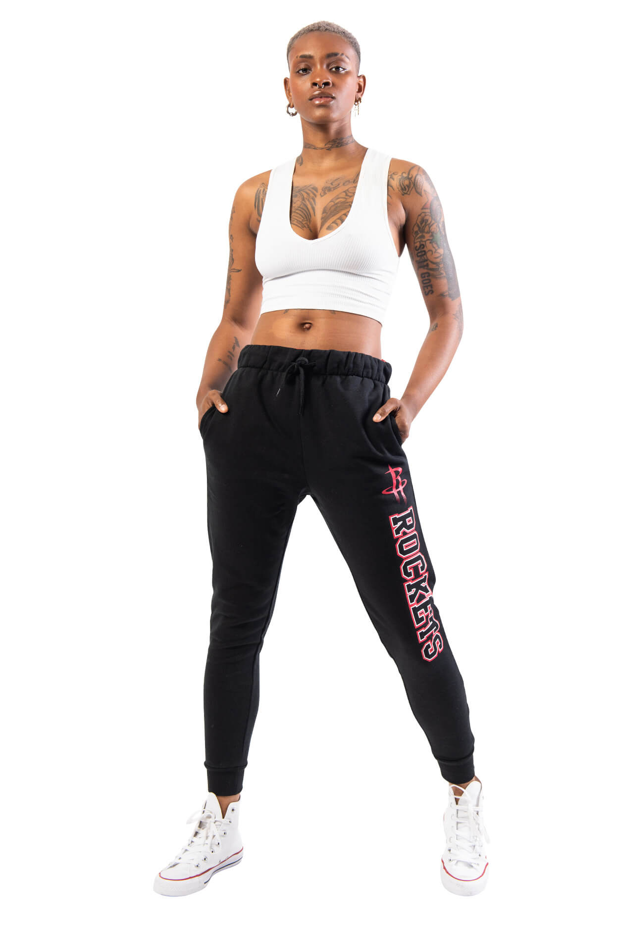 NBA Houston Rockets Women's Basic Jogger|Houston Rockets