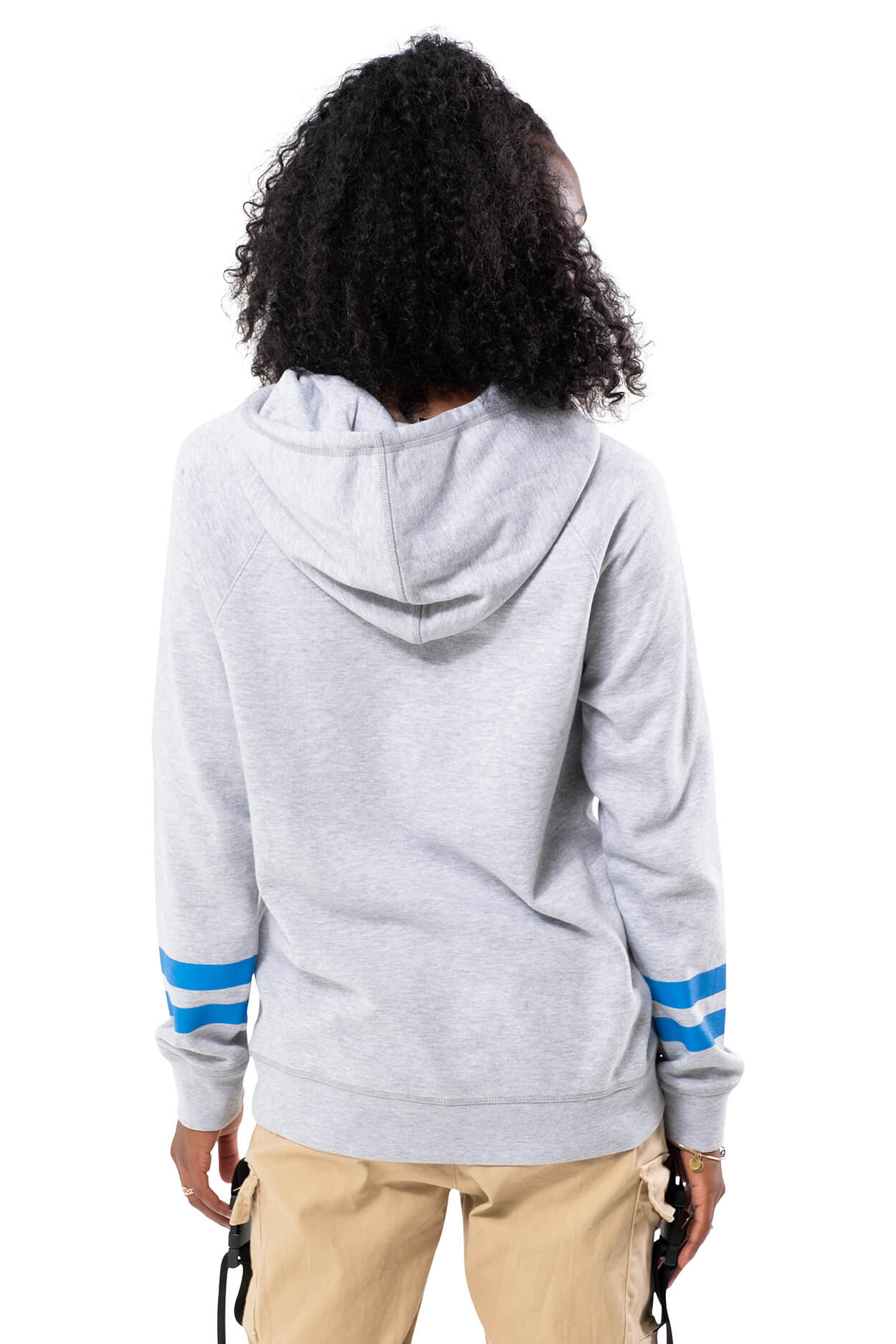 NBA Dallas Mavericks Women's Hoodie Varsity Stripe|Dallas Mavericks