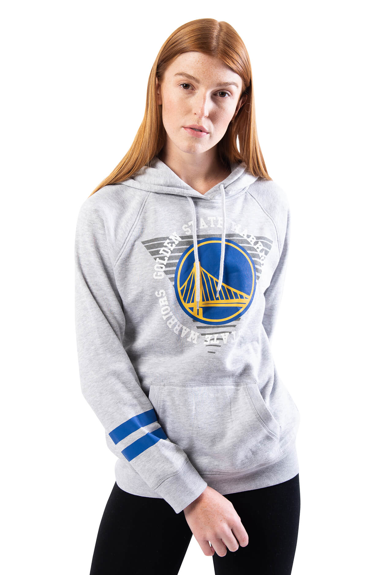 NBA Golden State Warriors Women's Hoodie Varsity Stripe|Golden State Warriors