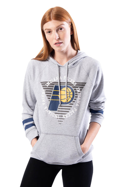 NBA Indiana Pacers Women's Hoodie Varsity Stripe|Indiana Pacers