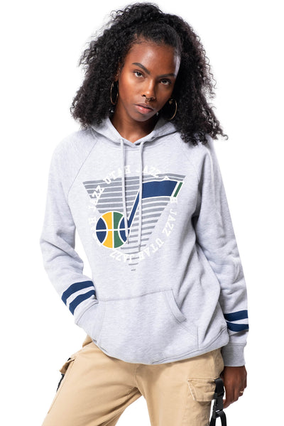NBA Utah Jazz Women's Hoodie Varsity Stripe|Utah Jazz