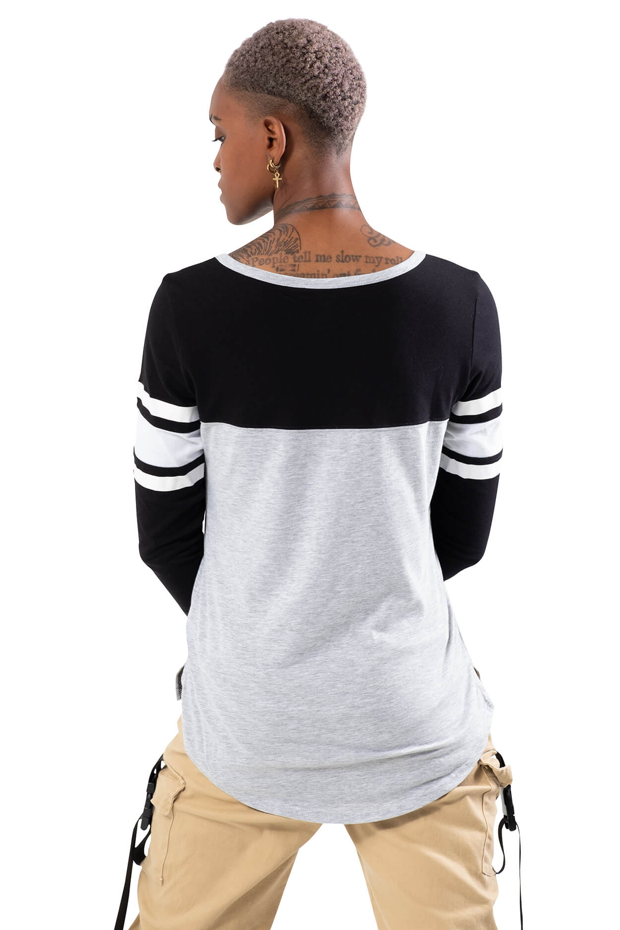 NBA Brooklyn Nets Women's Baseball Tee|Brooklyn Nets