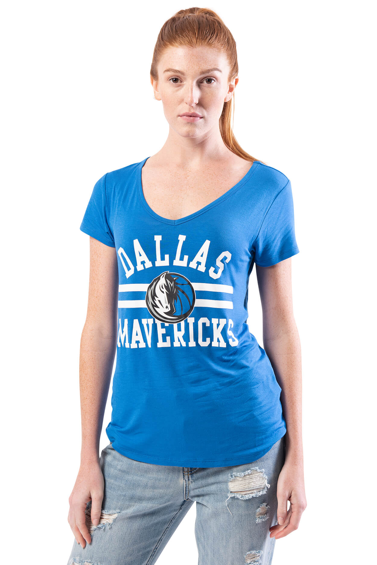 NBA Dallas Mavericks Women's Short Sleeve Tee|Dallas Mavericks