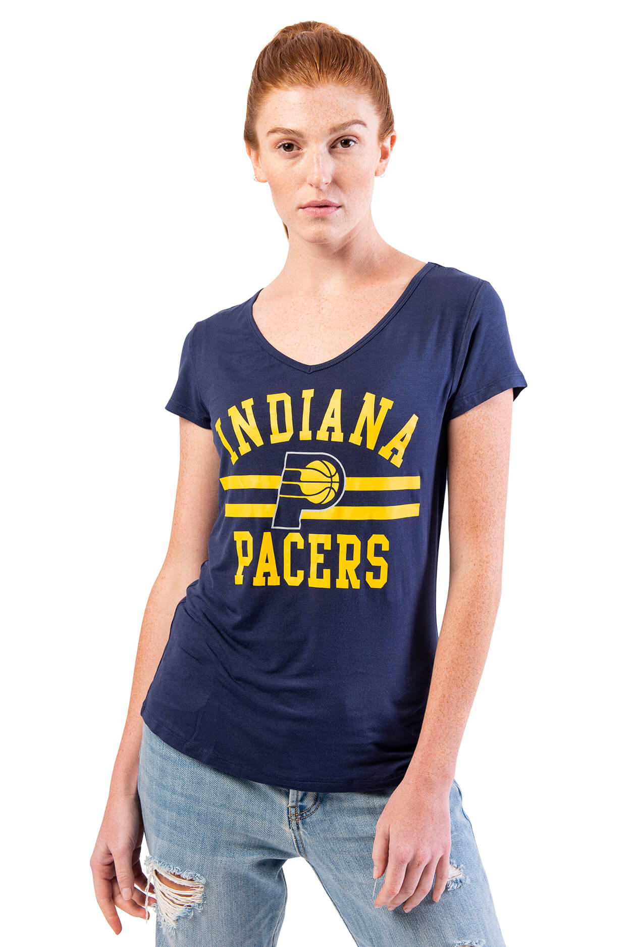 NBA Indiana Pacers Women's Short Sleeve Tee|Indiana Pacers