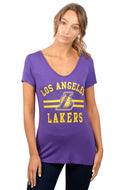 NBA Los Angeles Lakers Women's Short Sleeve Tee|Los Angeles Lakers