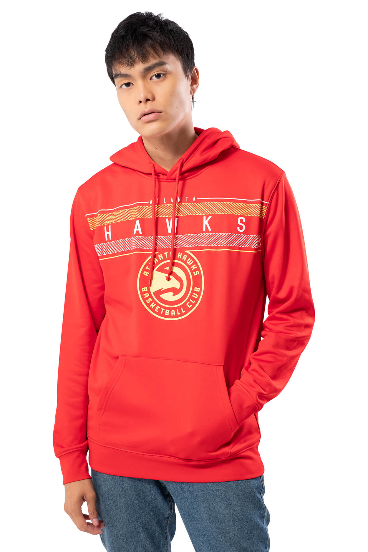 NBA Atlanta Hawks Men's Fleece Hoodie Midtown|Atlanta Hawks