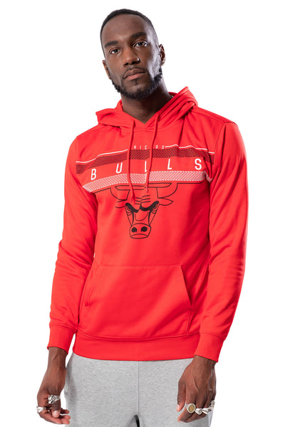 NBA Chicago Bulls Men's Fleece Hoodie Midtown|Chicago Bulls