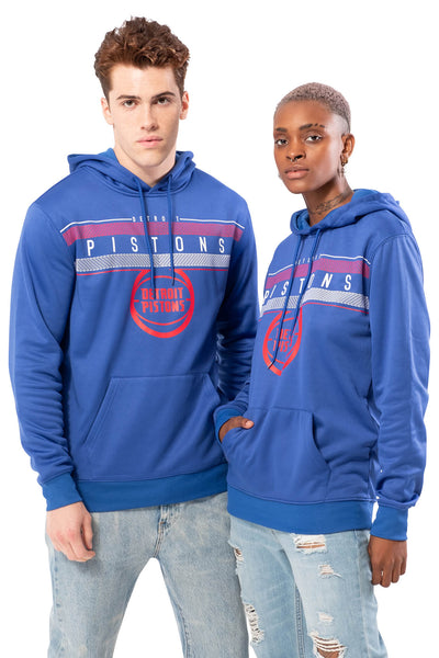NBA Detroit Pistons Men's Fleece Hoodie Midtown|Detroit Pistons