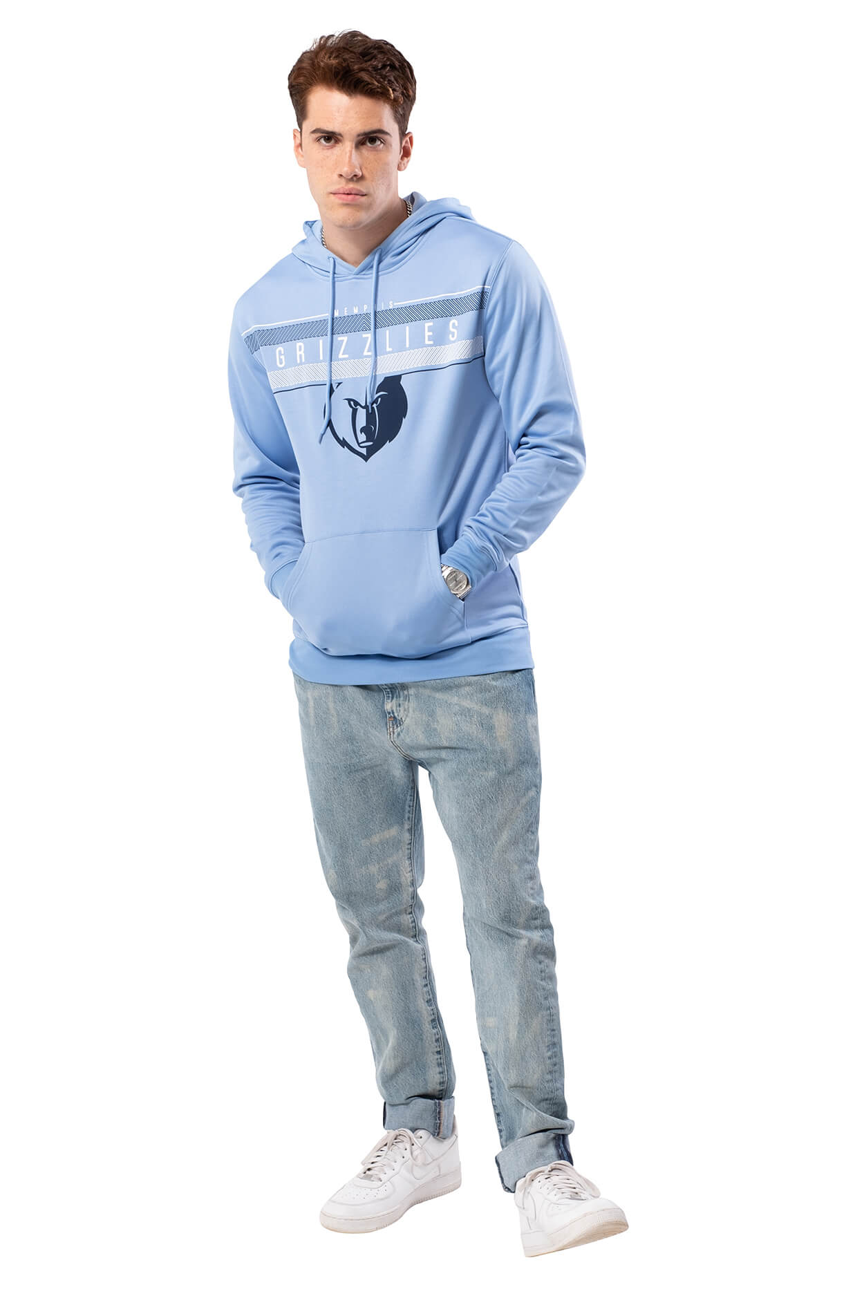 NBA Memphis Grizzlies Men's Fleece Hoodie Midtown|Memphis Grizzlies