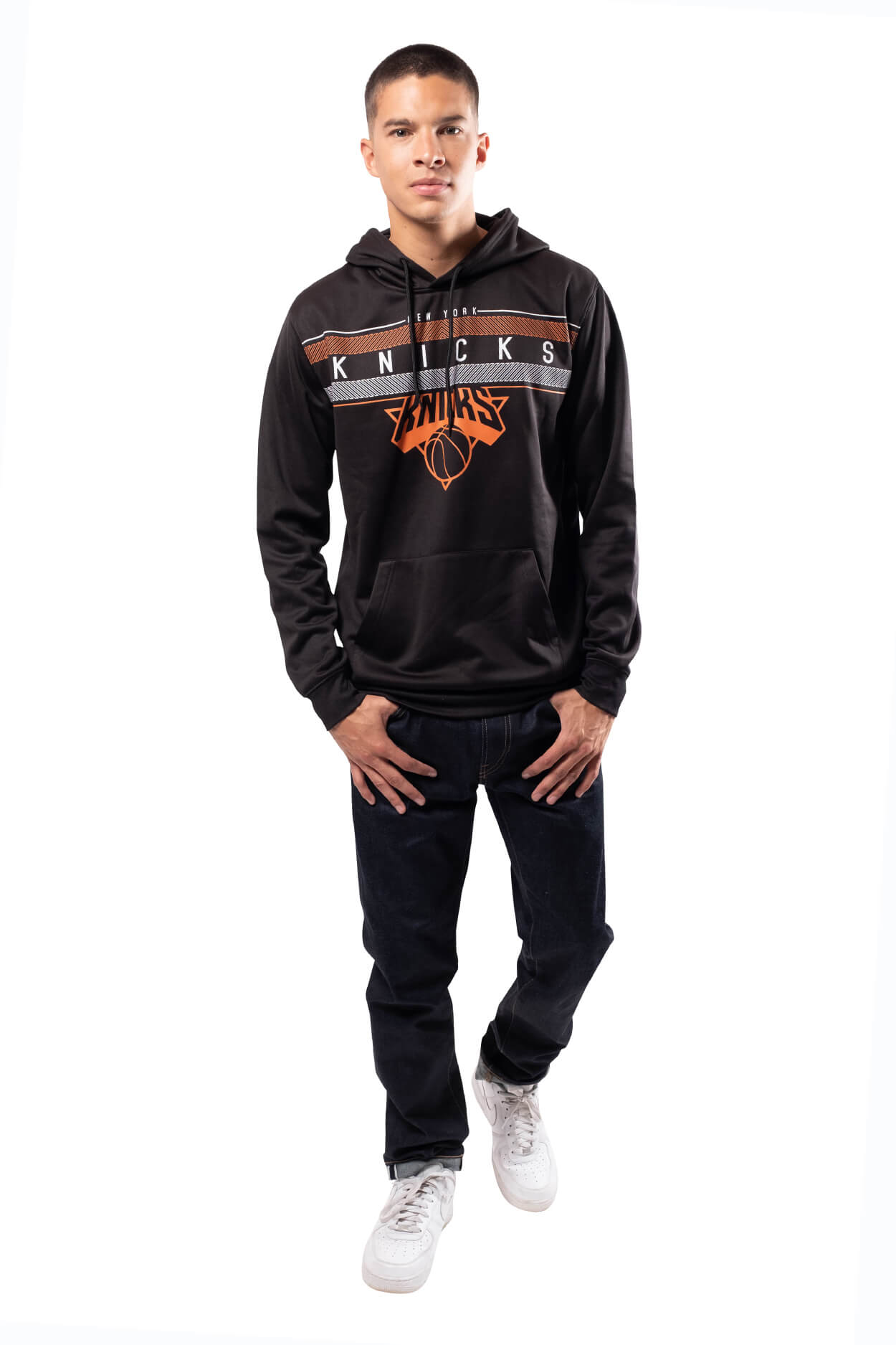 NBA New York Knicks Men's Fleece Hoodie Midtown|New York Knicks