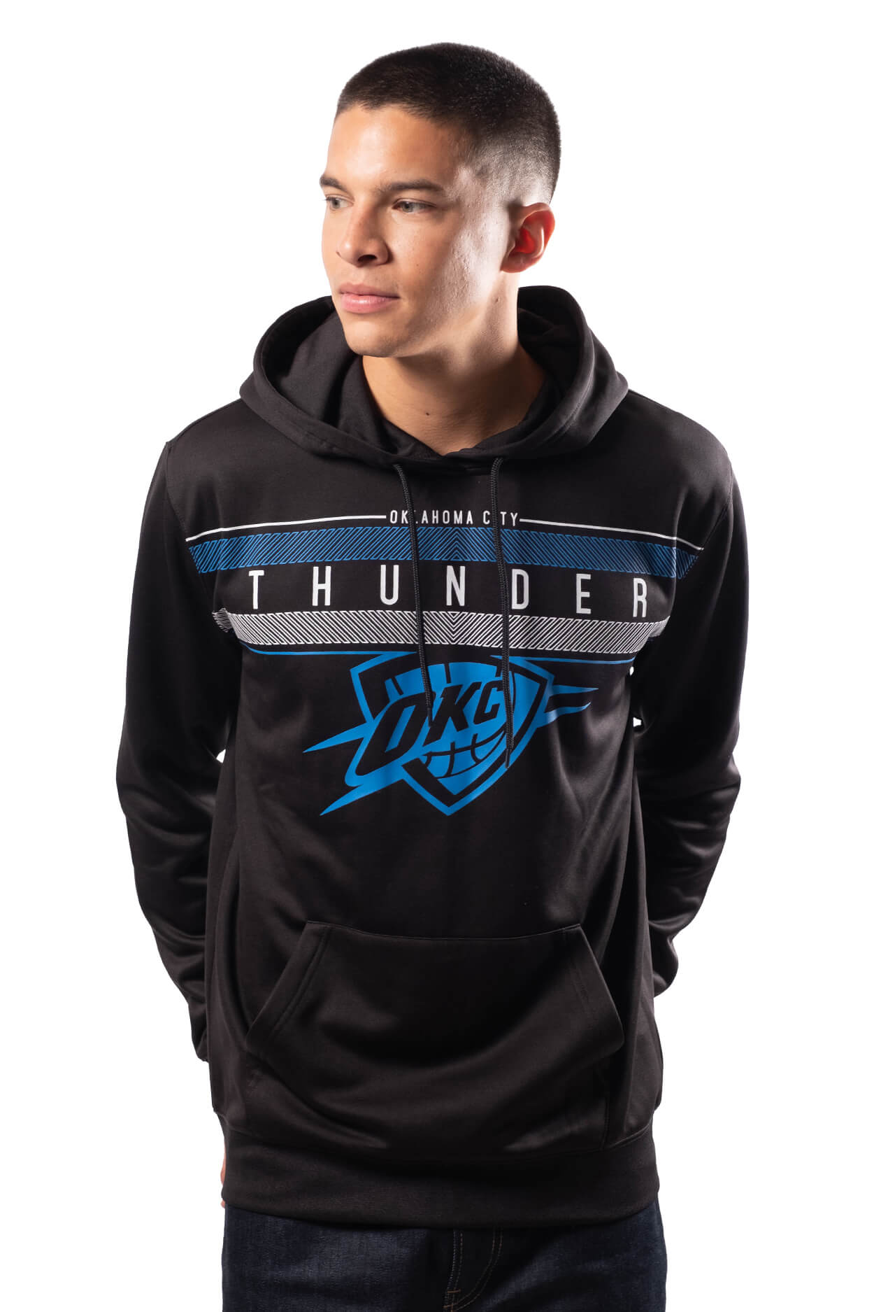 NBA Oklahoma City Thunder Men's Fleece Hoodie Midtown|Oklahoma City Thunder