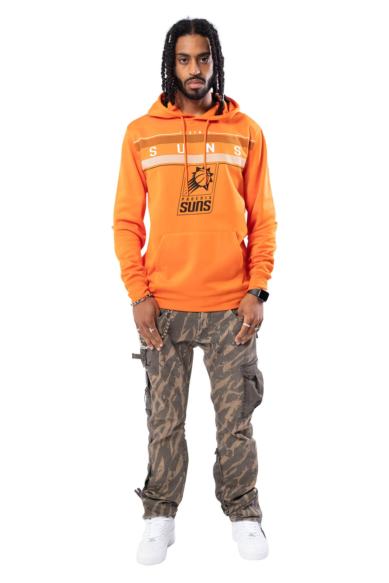 NBA Phoenix Suns Men's Fleece Hoodie Midtown|Phoenix Suns