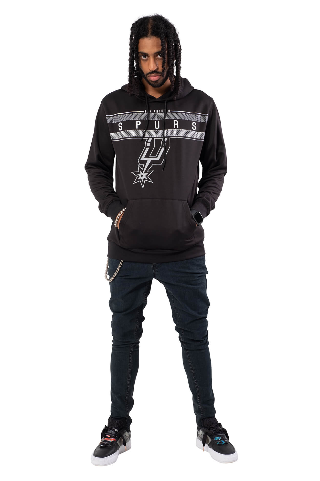 NBA San Antonio Spurs Men's Fleece Hoodie Midtown|San Antonio Spurs