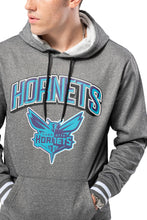 Load image into Gallery viewer, NBA Charlotte Hornets Men's Fleece Hoodie Rib Stripe|Charlotte Hornets