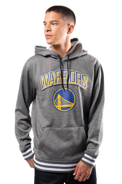 NBA Golden State Warriors Men's Fleece Hoodie Rib Stripe|Golden State Warriors