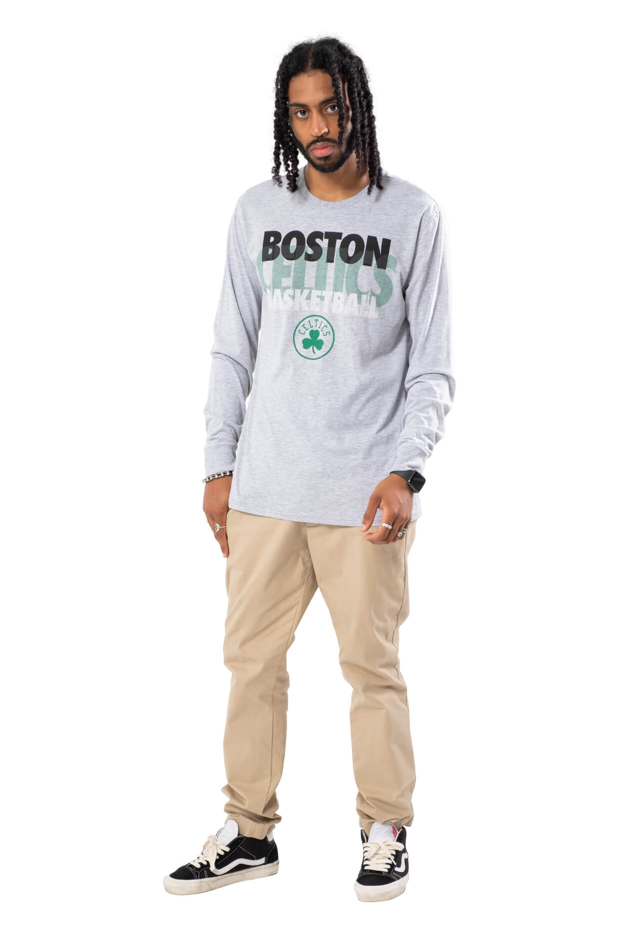 NBA Boston Celtics Men's Long Sleeve Pullover|Boston Celtics