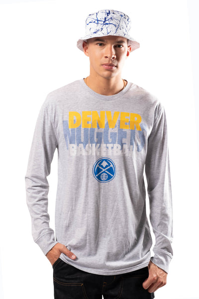 NBA Denver Nuggets Men's Long Sleeve Pullover|Denver Nuggets