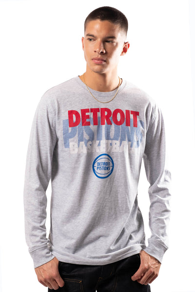 NBA Detroit Pistons Men's Long Sleeve Pullover|Detroit Pistons