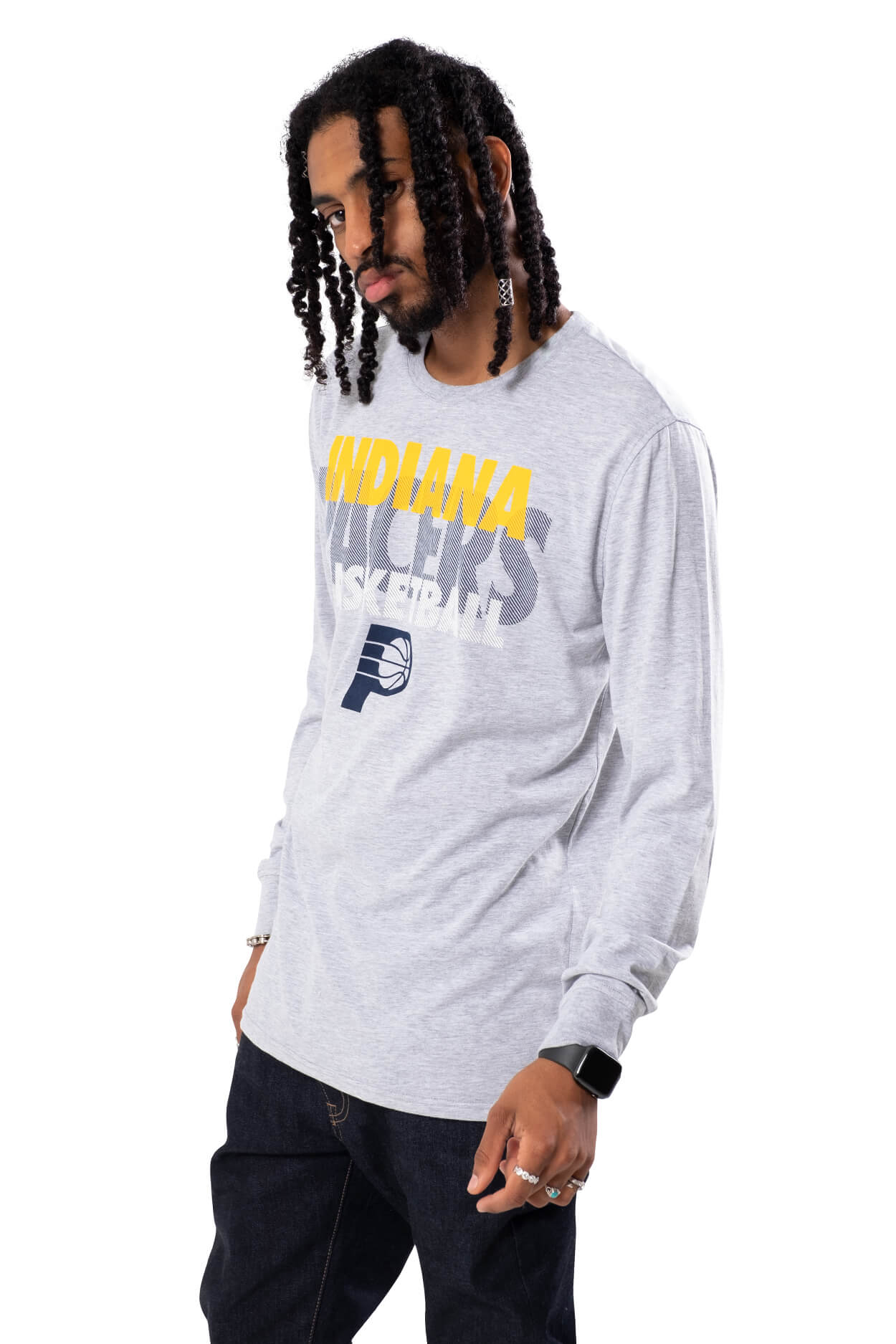 NBA Indiana Pacers Men's Long Sleeve Pullover|Indiana Pacers