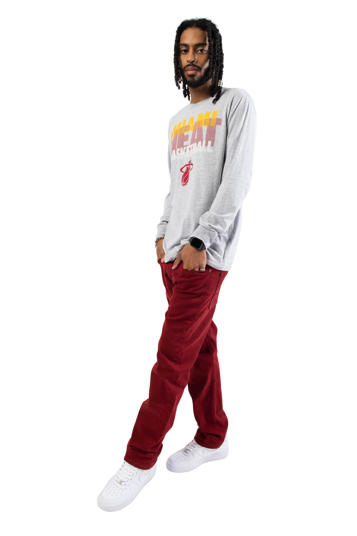 NBA Miami Heat Men's Long Sleeve Pullover|Miami Heat