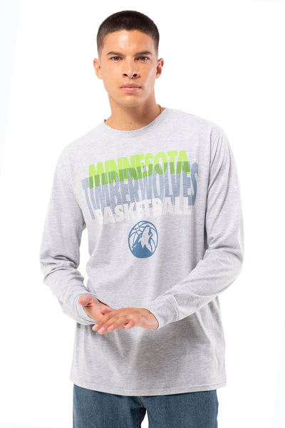 NBA Minnesota Timberwolves Men's Long Sleeve Pullover|Minnesota Timberwolves