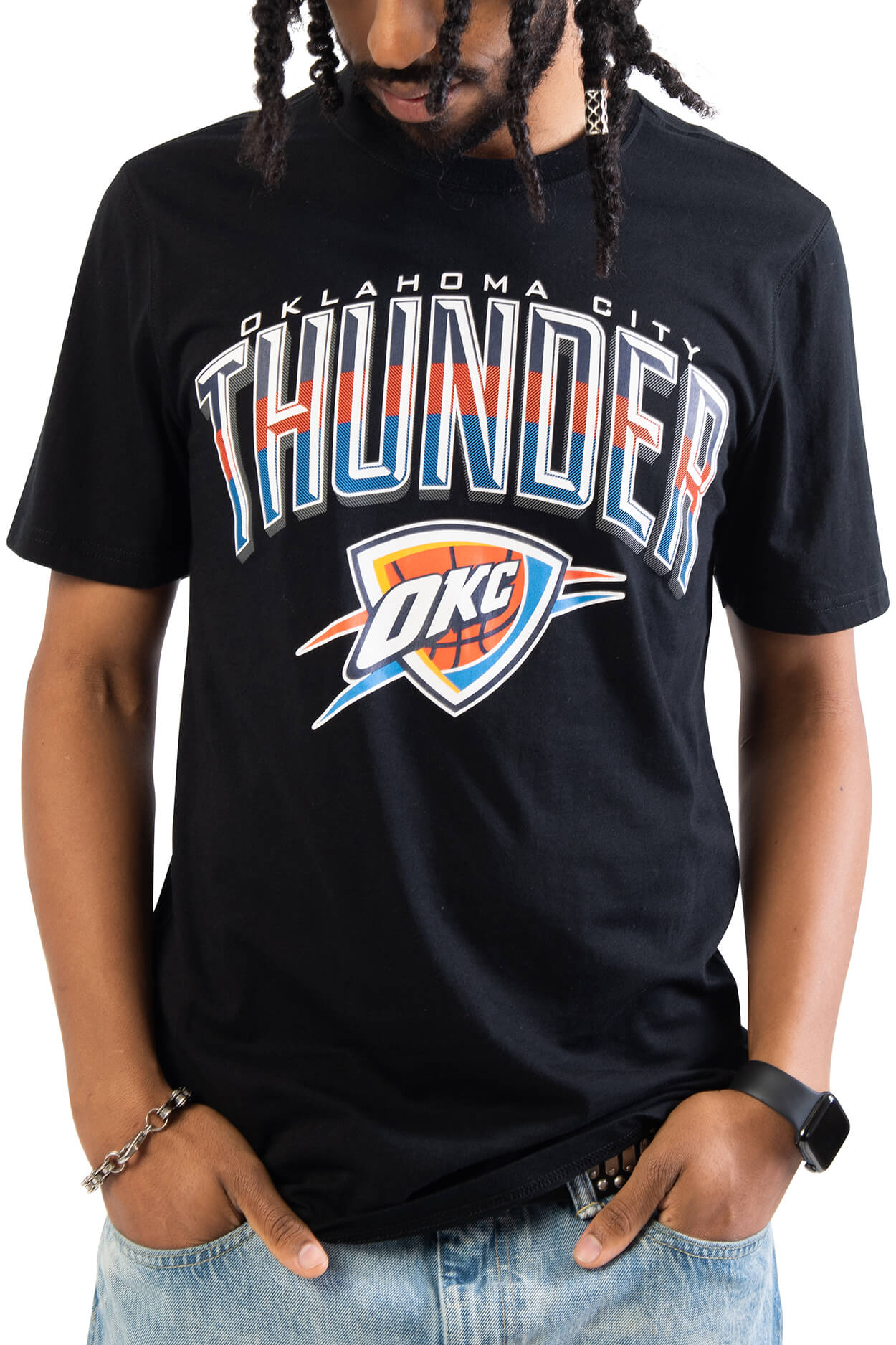 NBA Oklahoma City Thunder Men's Short Sleeve Tee|Oklahoma City Thunder