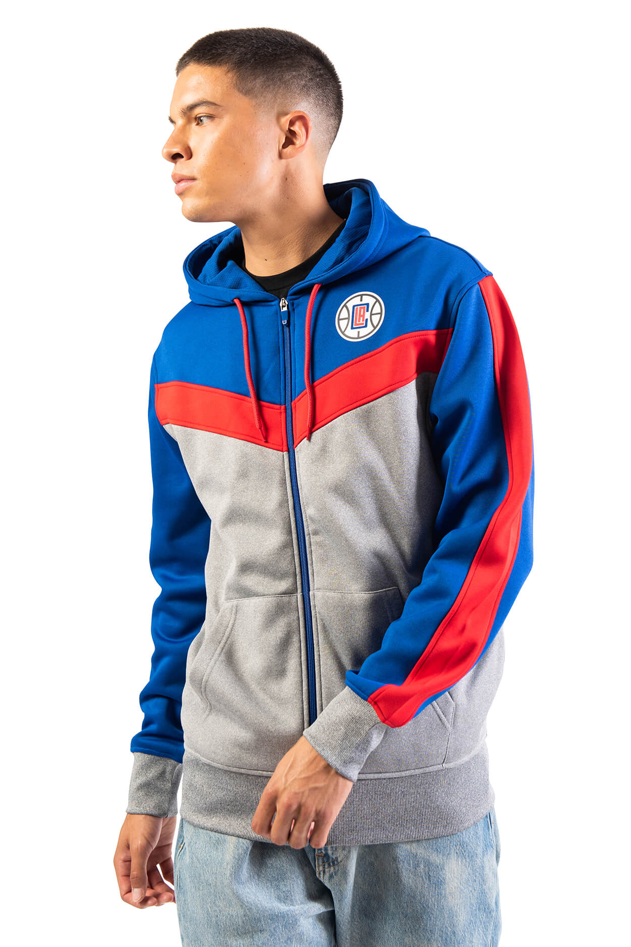 NBA Los Angeles Clippers Men's Full Zip Hoodie|Los Angeles Clippers