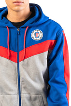 Load image into Gallery viewer, NBA Los Angeles Clippers Men's Full Zip Hoodie|Los Angeles Clippers