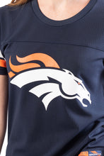 Load image into Gallery viewer, NFL Denver Broncos Women's Varsity Stripe Tee|Denver Broncos