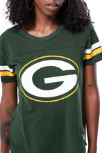 Load image into Gallery viewer, NFL Green Bay Packers Women's Varsity Stripe Tee|Green Bay Packers