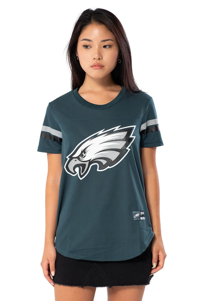 NFL Philadelphia Eagles Women's Varsity Stripe Tee|Philadelphia Eagles