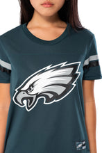 Load image into Gallery viewer, NFL Philadelphia Eagles Women's Varsity Stripe Tee|Philadelphia Eagles