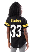 Load image into Gallery viewer, NFL Pittsburgh Steelers Women's Varsity Stripe Tee|Pittsburgh Steelers