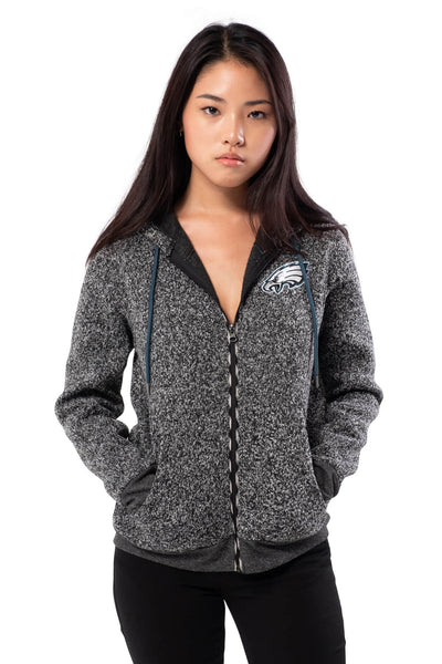 NFL Philadelphia Eagles Women's Full Zip Hoodie|Philadelphia Eagles