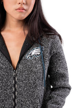 Load image into Gallery viewer, NFL Philadelphia Eagles Women's Full Zip Hoodie|Philadelphia Eagles