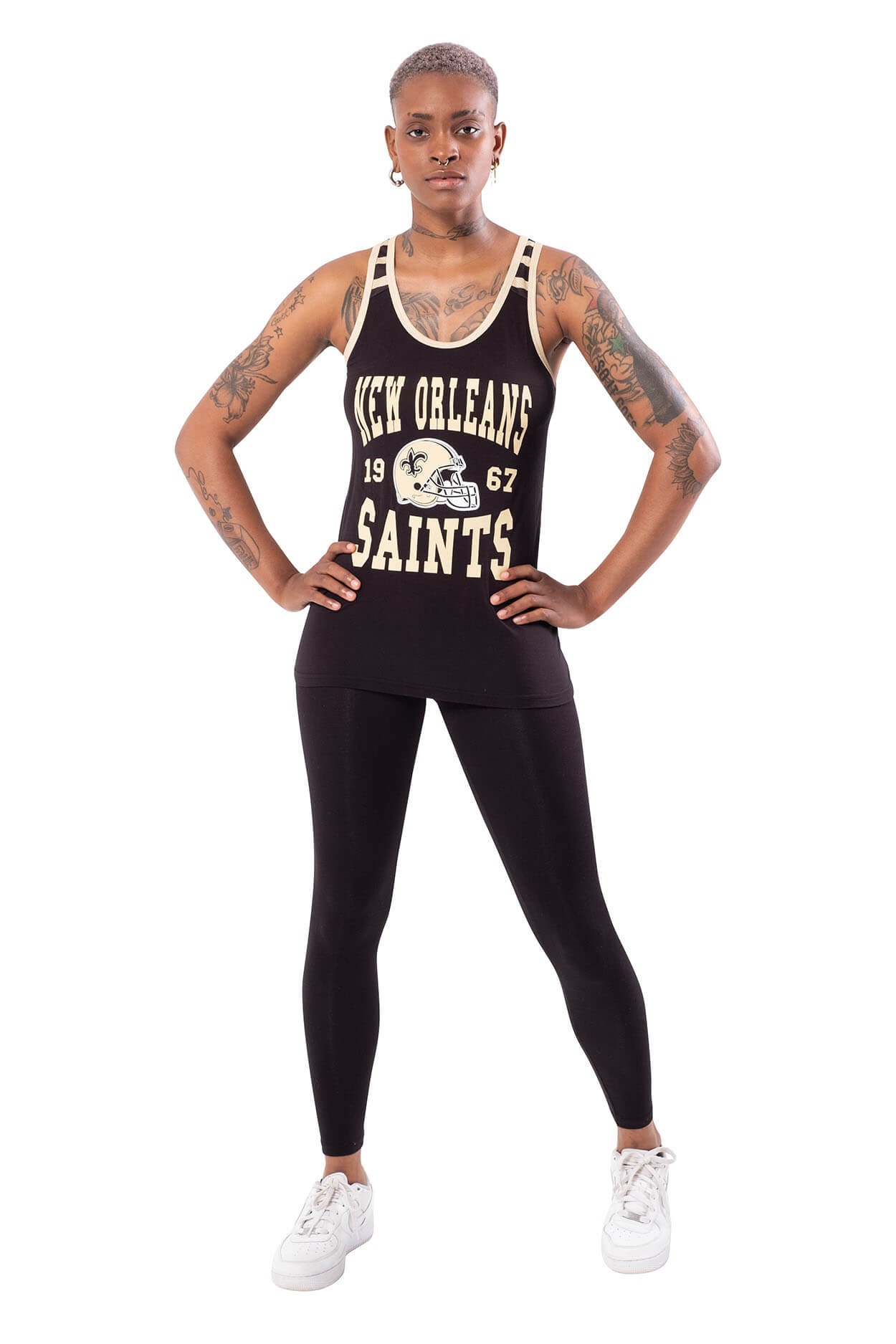 NFL New Orleans Saints Women's Jersey Tank Top|New Orleans Saints