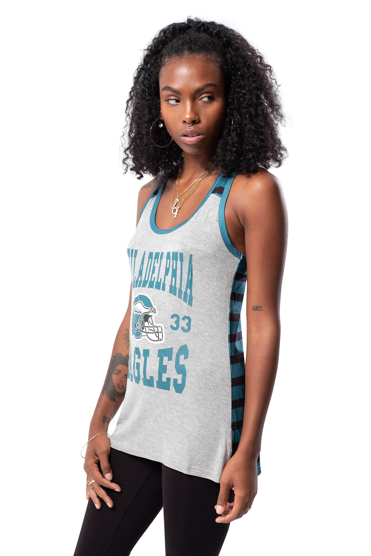 NFL Philadelphia Eagles Women's Jersey Tank Top|Philadelphia Eagles