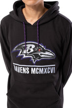 Load image into Gallery viewer, NFL Baltimore Ravens Men's Embroidered Hoodie|Baltimore Ravens