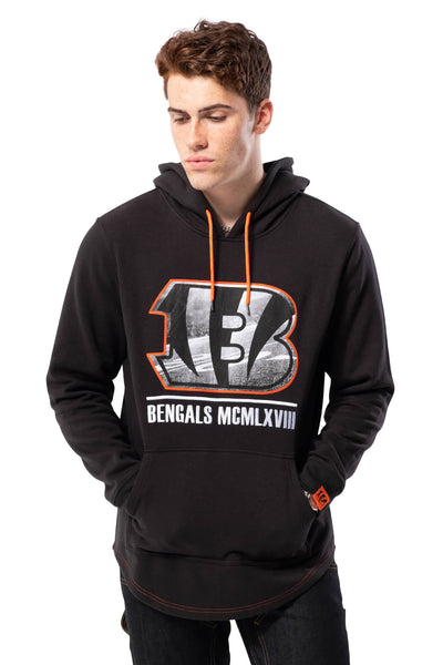 NFL Cincinnati Bengals Men's Embroidered Hoodie|Cincinnati Bengals